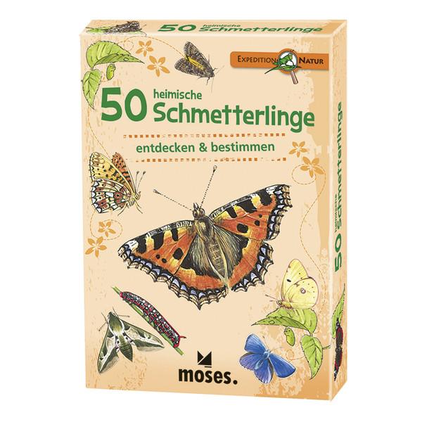 50 HEIMISCHE SCHMETTERLINGE