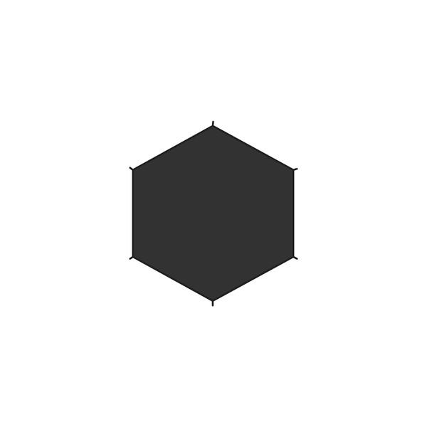 Fjällräven Dome 2 Footprint - Zeltzubehör