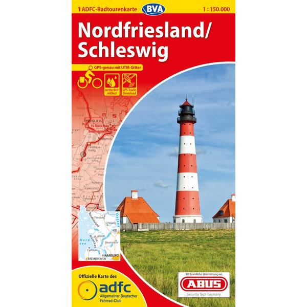 ADFC 1:150 000 01 Nordfriesl./Schleswig