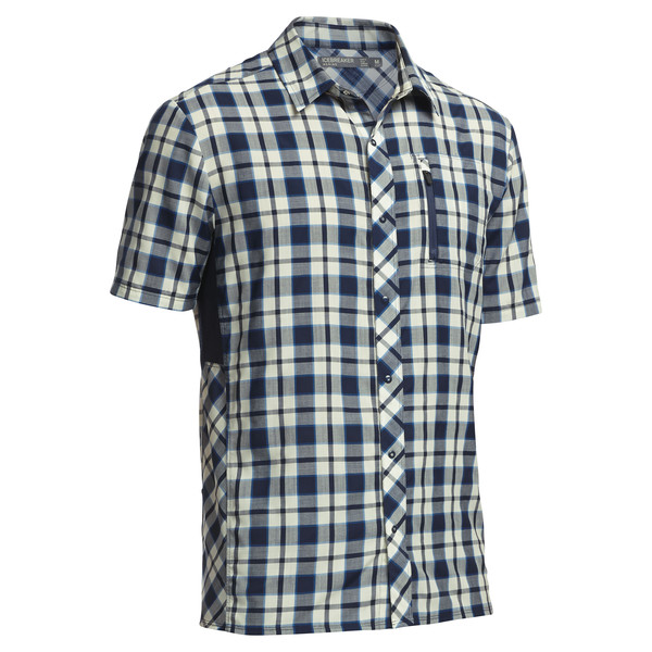 Compass SS Shirt Plaid
