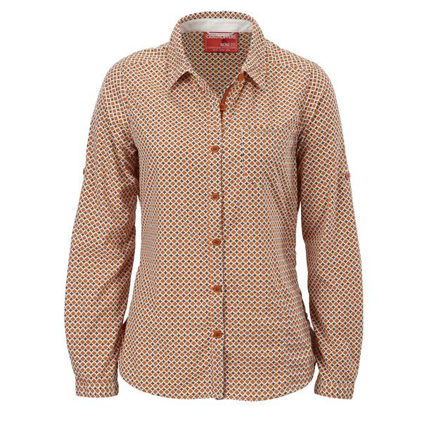 Craghoppers NosiLife Olivie L/S Shirt Frauen - Outdoor Bluse