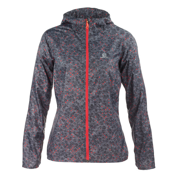 Salomon FAST WING GRAPHIC HOODIE Frauen