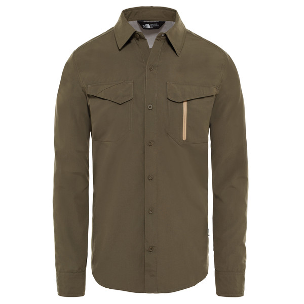 The North Face L/S SEQUOIA SHIRT Männer - Outdoor Hemd