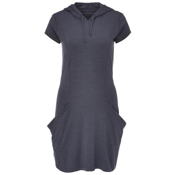 Icebreaker WMNS YANNI HOODED DRESS Frauen - Kleid