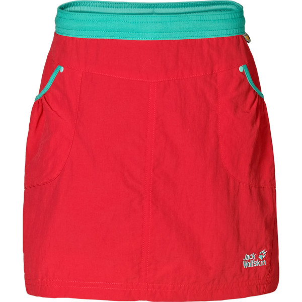 Jack Wolfskin Cricket 2 Skort Kinder - Rock