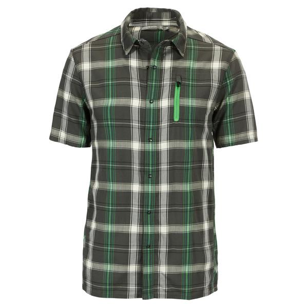 Compass II S/S Shirt Plaid