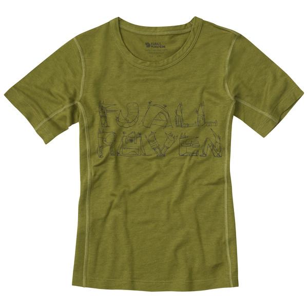 Fjällräven Trail T-Shirt Kinder - Funktionsunterwäsche