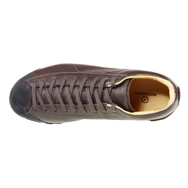 scarpa mojito basic leder sneaker schwarz