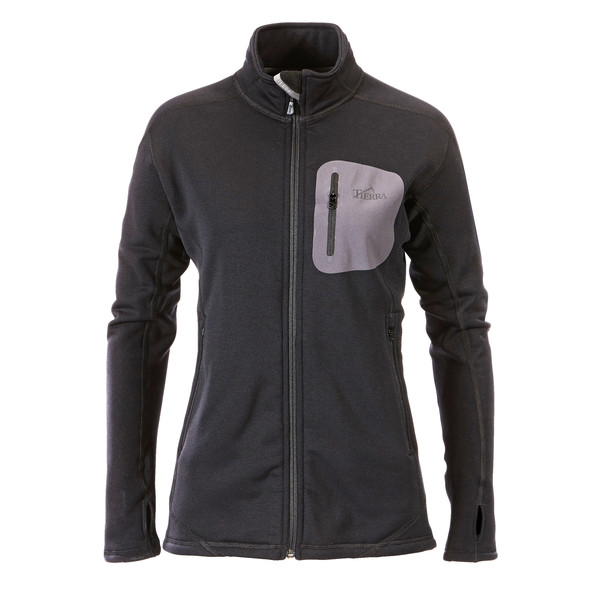 Tierra Cabane Powerstretch Jacket Frauen - Fleecejacke