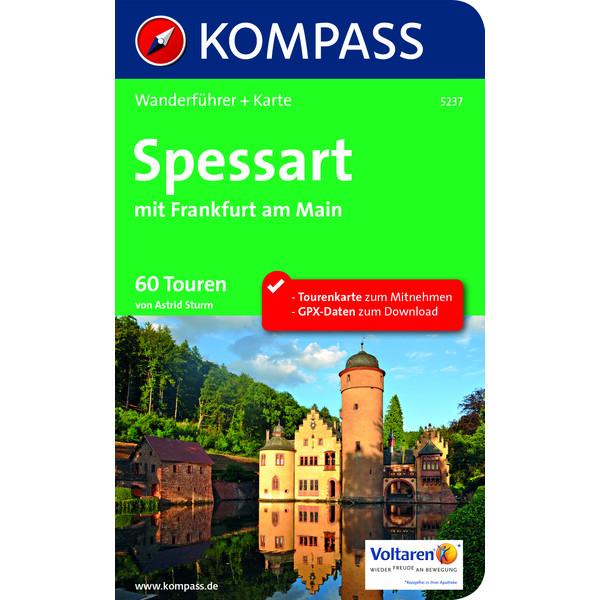 Kompass Wanderführer Spessart