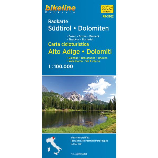 Esterbauer Radkarte Südtirol Dolomiten