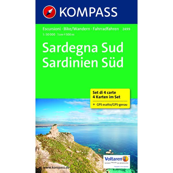 KOKA 2499 Sardinien Süd 1: 50 000