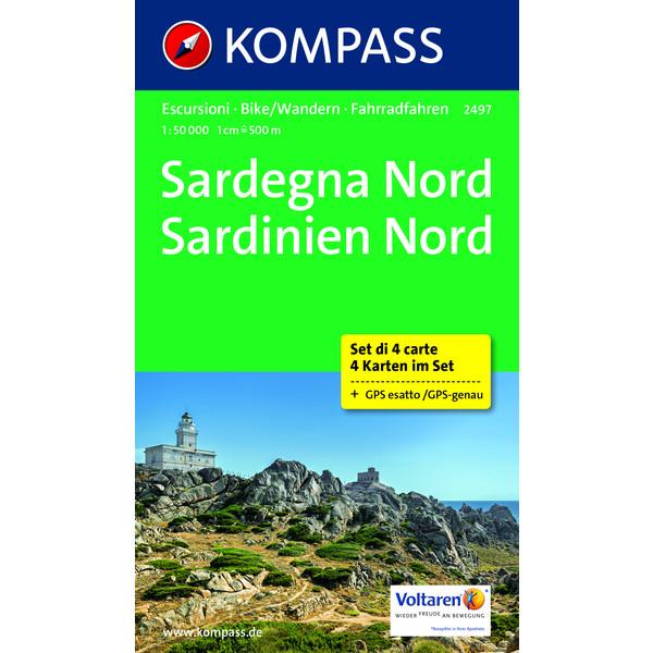 KOKA Set 2497 Sardinien Nord 1:50 000