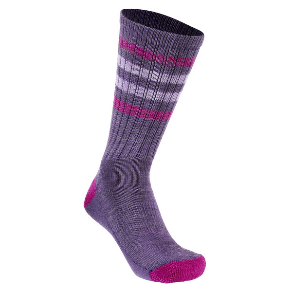 Smartwool Striped Hike Light Crew Kinder - Wandersocken