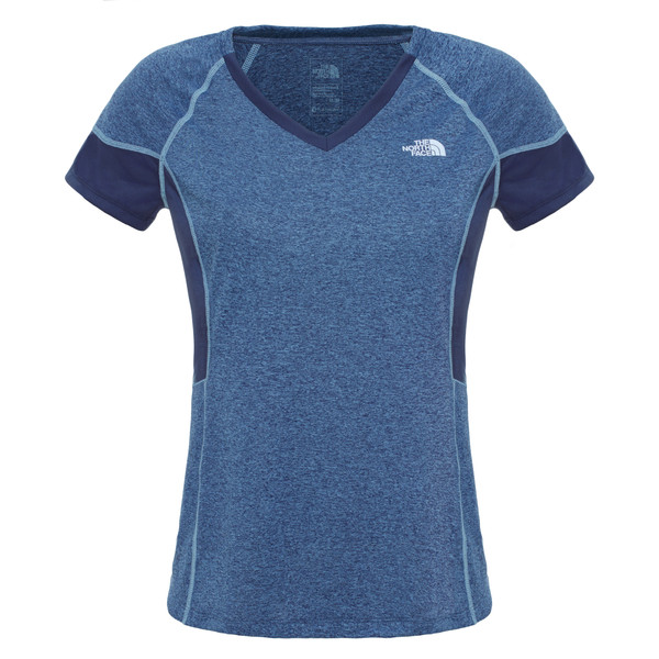 The North Face Reactor V-Neck S/S Frauen - Funktionsshirt