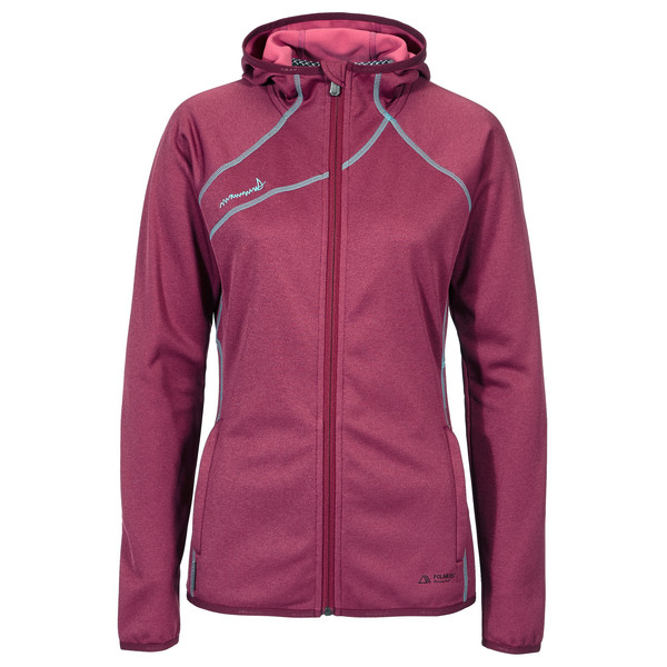 Mammut Get Away Hooded Jacket Frauen - Fleecejacke