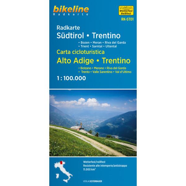 Esterbauer Radkarte Südtirol Trentino
