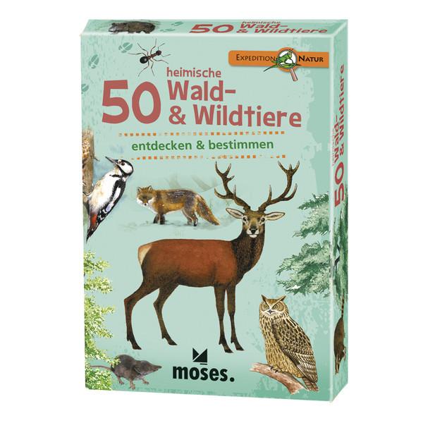 50 heimische Wald- & Wildtiere Kinder