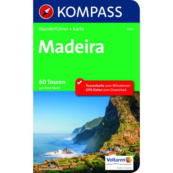 Kompass Wanderführer Madeira