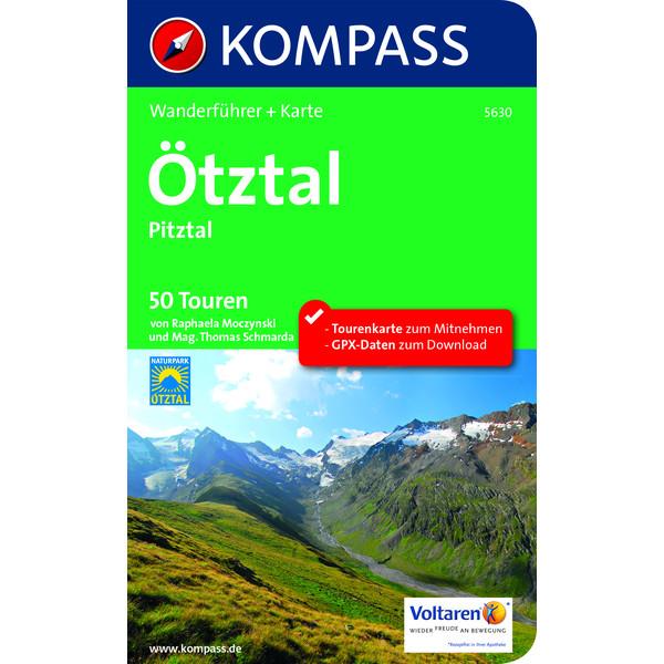 Kompass Wanderführer Ötztal, Pitztal