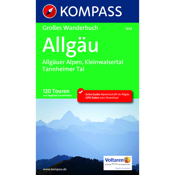 Kompass WF Allgäu, Allgäuer Alpen
