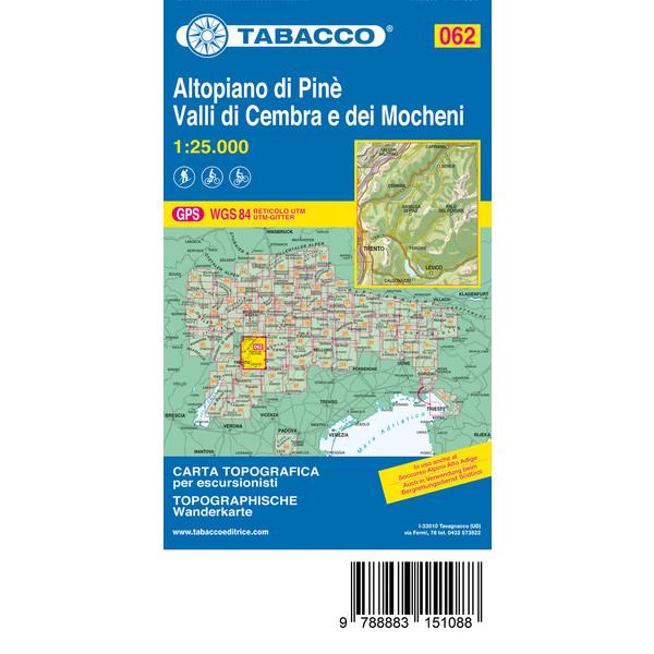 Tabacco Dolomiten Tourismuskarte