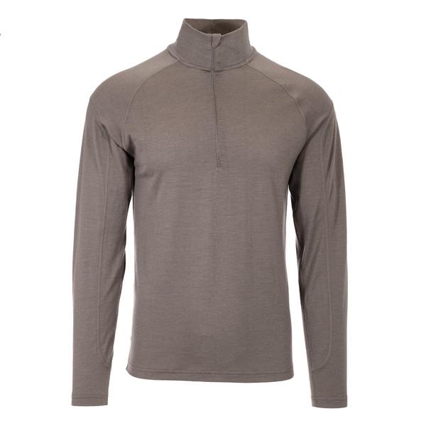 Kirvi L/S Zip Shirt