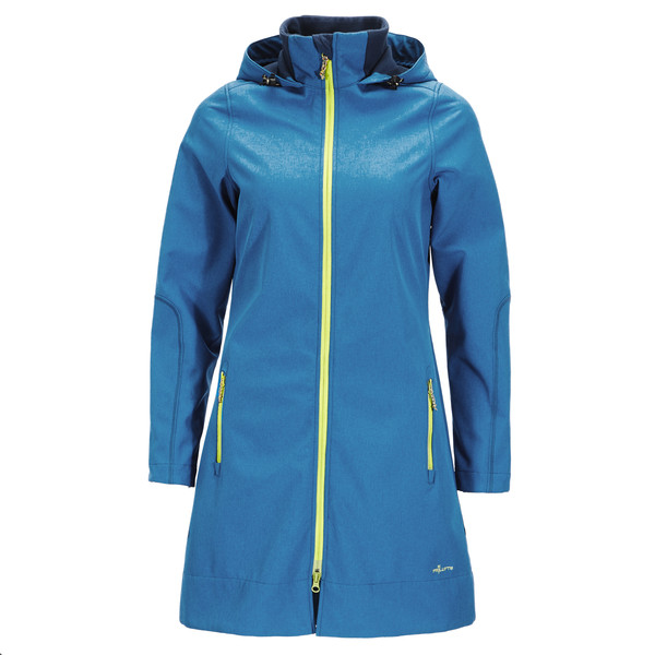 FRILUFTS Alkmaar Hooded Coat Frauen - Softshelljacke