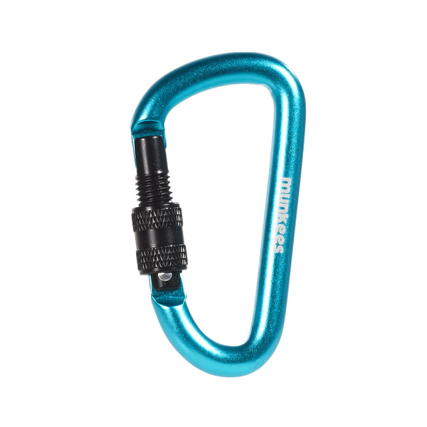 D Carabiner with Screw Lock 8 mm x 80 mm