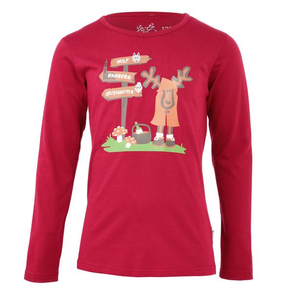 Elkline Rotelkchen Kinder - Langarmshirt