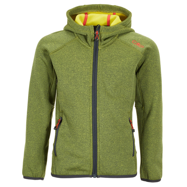 CMP Fix Hood Stretch Kinder - Fleecejacke
