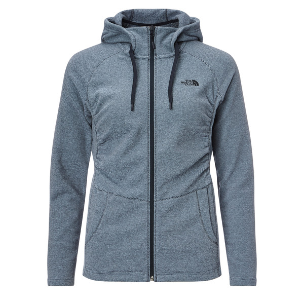 The North Face Mezzaluna Full Zip Hoodie Frauen - Fleecejacke