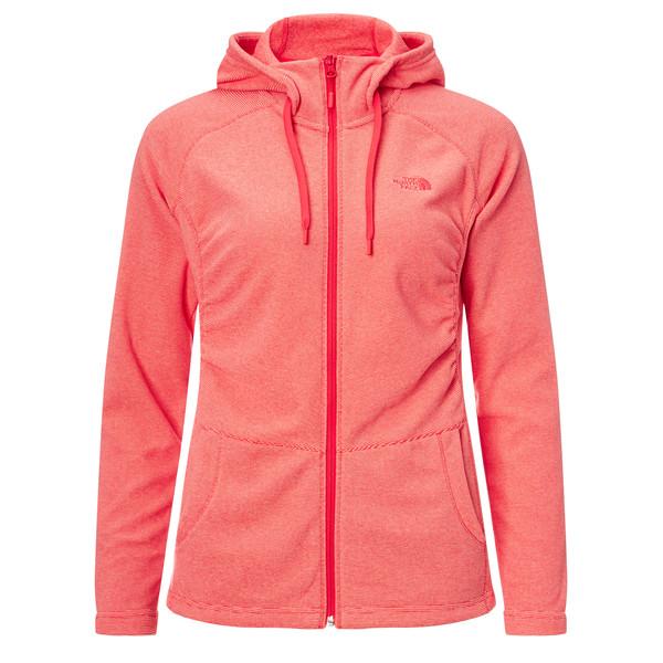 The North Face Mezzaluna full zip hoodie Frauen - Fleecejacke