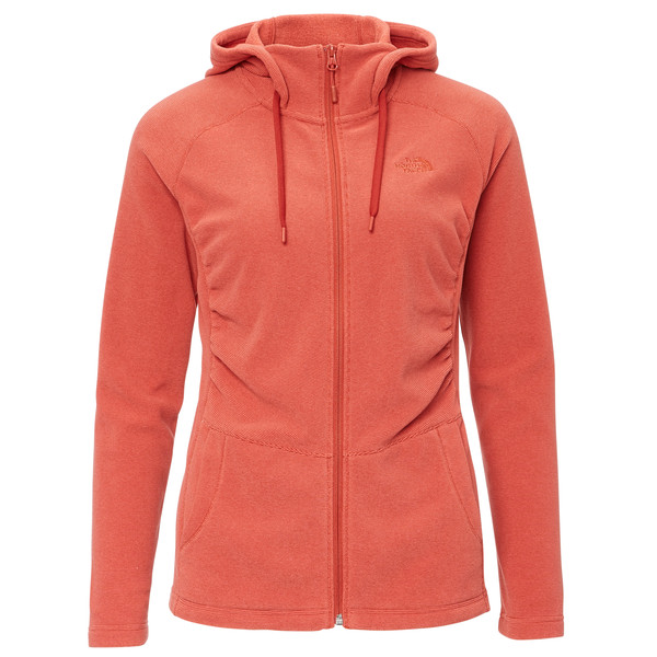 The North Face W MEZZALUNA FLL ZP H Frauen - Fleecejacke