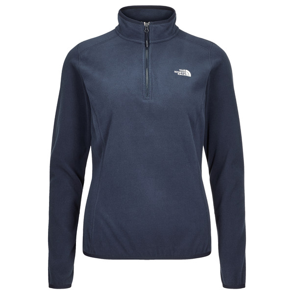 The North Face 100 Glacier 1/4 Zip Frauen - Fleecejacke