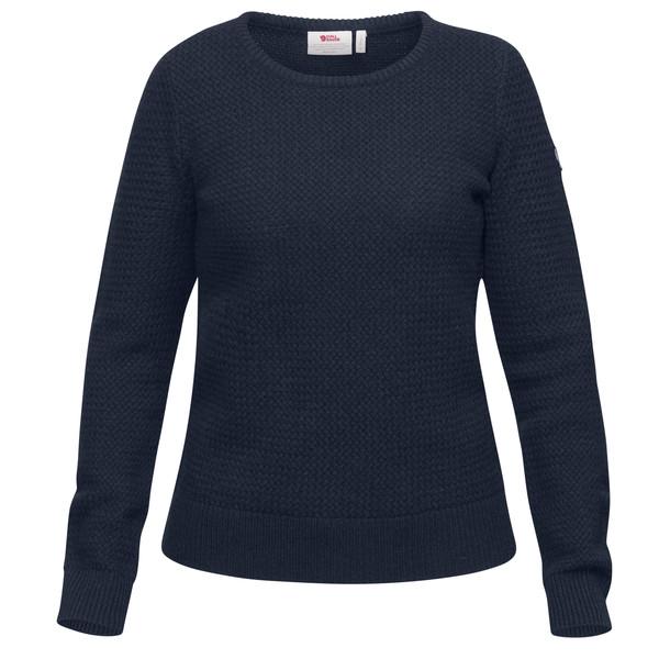 Fjällräven Övik Structure Sweater Frauen - Wollpullover