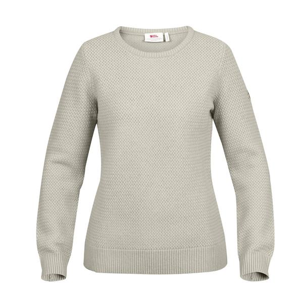 Fjällräven ÖVIK STRUCTURE SWEATER W Frauen - Wollpullover