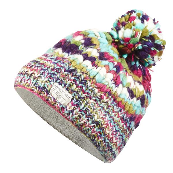 Uneven Yarn SP Bobble Hat