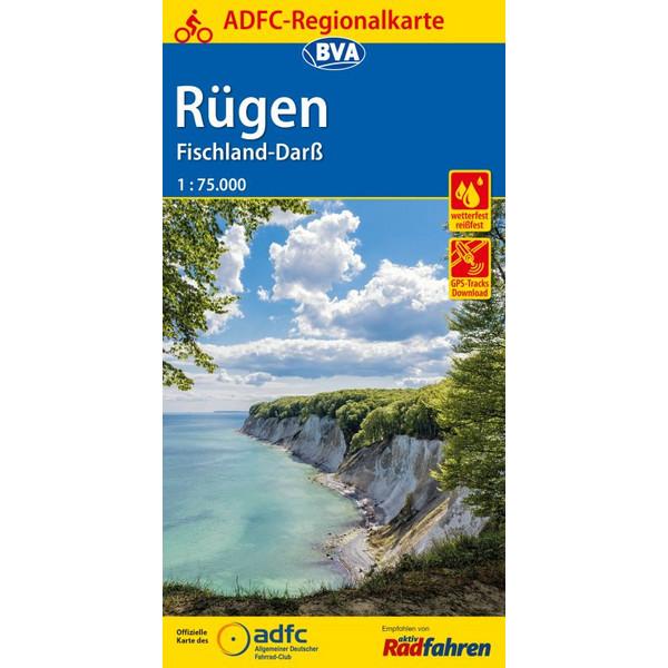 ADFC-Regionalkarte Rügen, Fischland-Darß