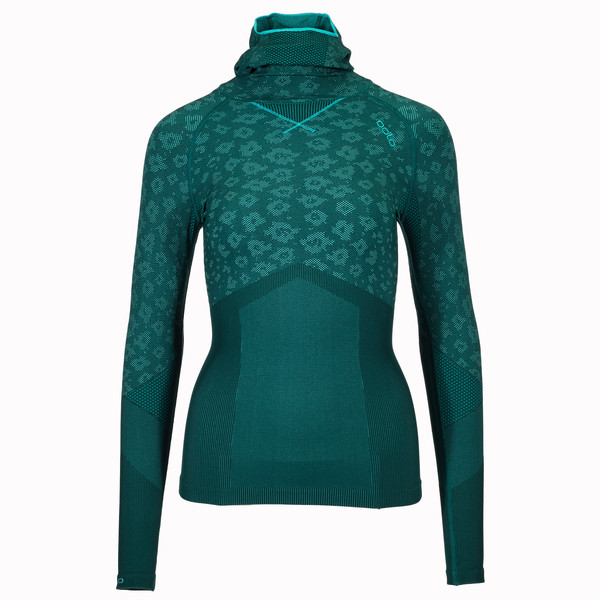 Odlo BLACKCOMB EVOL. WARM SHIRT L/S W.FACEM. Frauen - Funktionsunterwäsche