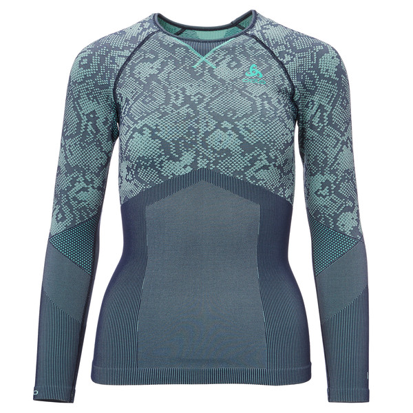 Odlo Blackcomb Evolution Warm Shirt L/S Frauen - Funktionsunterwäsche