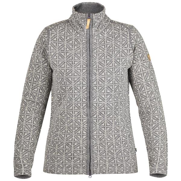 Fjällräven Övik Frost Cardigan W Frauen - Wolljacke