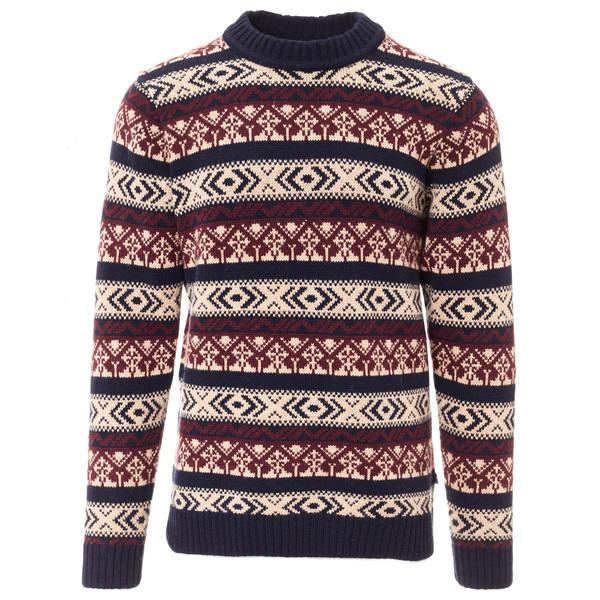 Fjällräven Övik Folk Knit Sweater Männer - Wollpullover