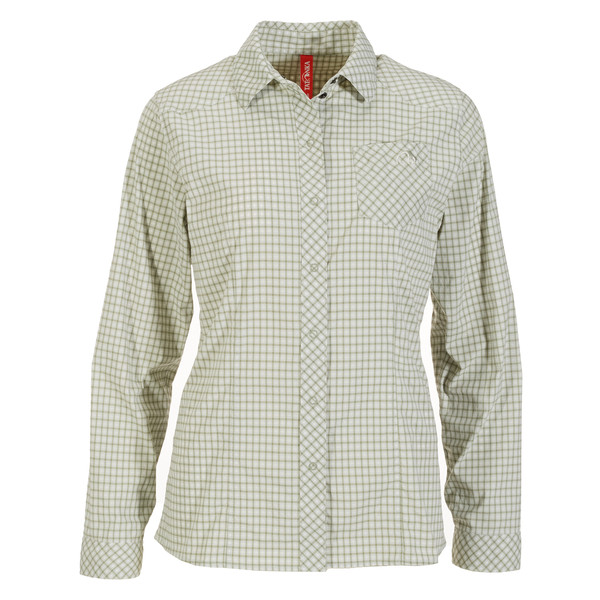 Tatonka CAMDEN W' S L/S SHIRT Frauen - Outdoor Bluse