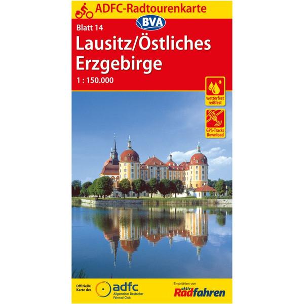 ADFC-Radtourenkarte 14 Lausitz