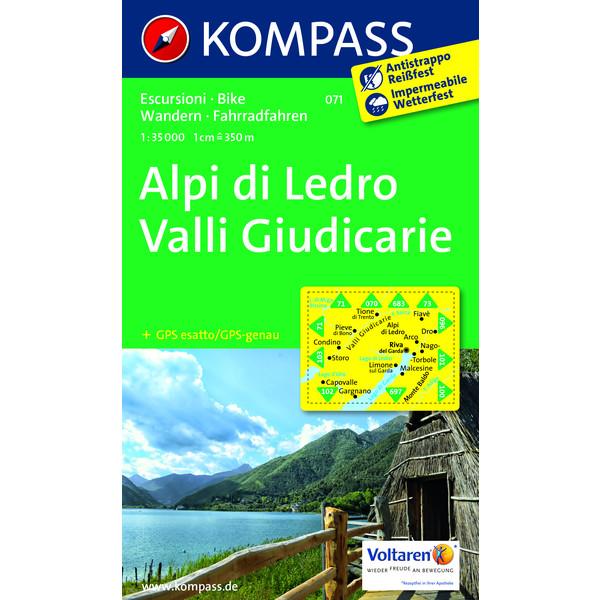 KOKA 071 Alpi di Ledro 1:35.000