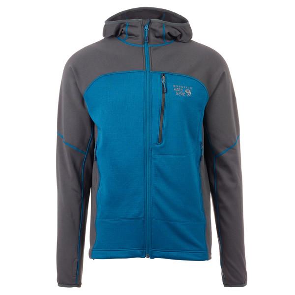 Mountain Hardwear Desna Grid Hooded Jacket Männer - Fleecejacke