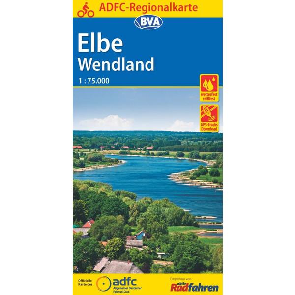ADFC-Regionalkarte Elbe Wendland
