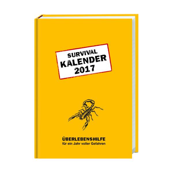 Survival Kalenderbuch A6 2017