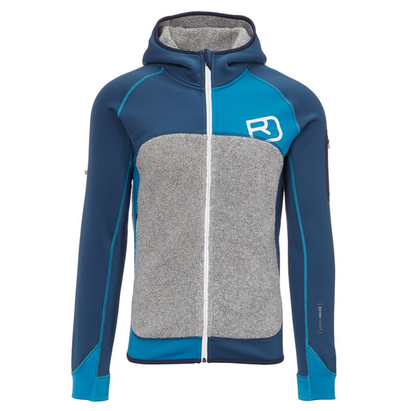 Ortovox Fleece Plus Hoody Männer - Fleecejacke